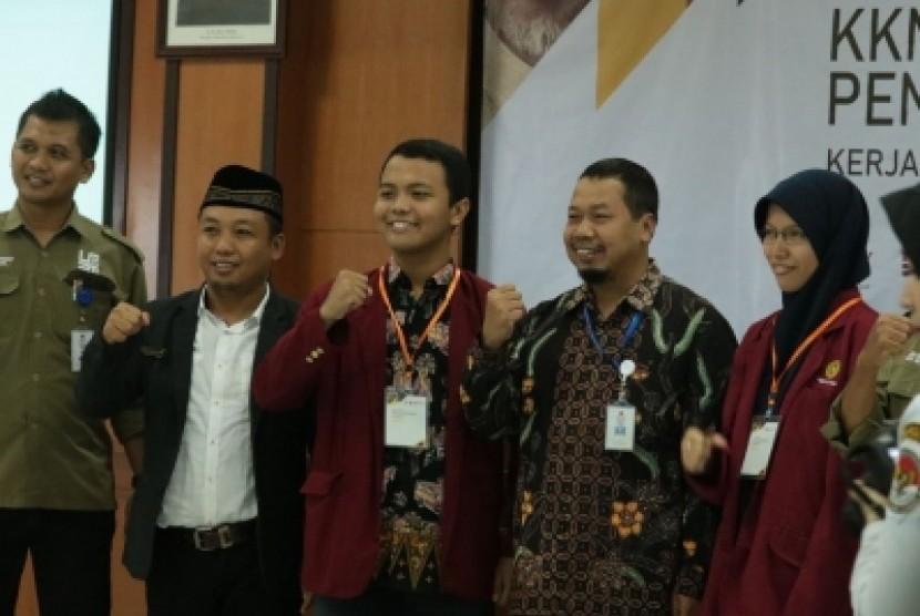 Pembekalan dan Penerjunan KKN Tematik Pengawasan Pemilu 2019 yang  dilaksanakan LP3M Universitas Muhammadiyah Yogyakarta (UMY), Rabu (20/3).