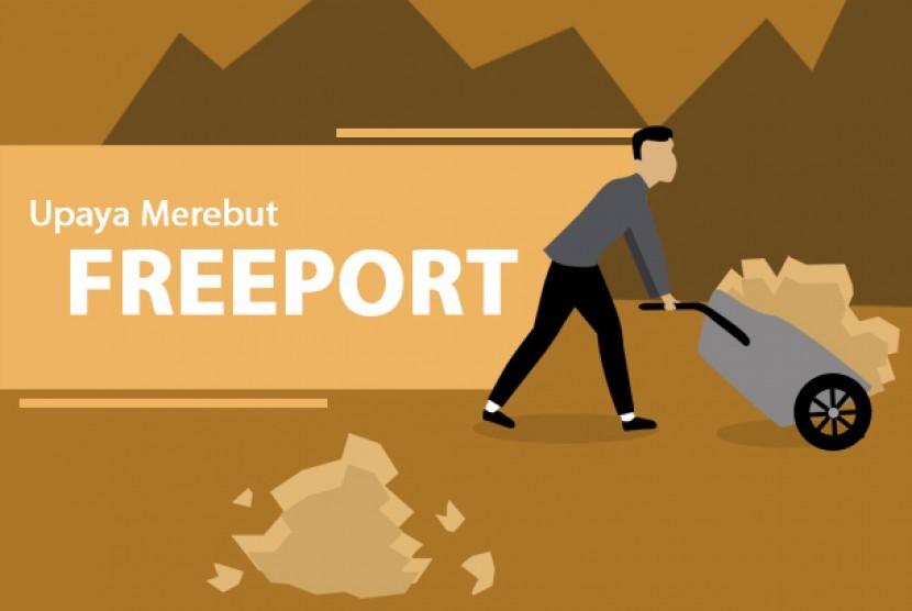 Pembelian saham Freeport