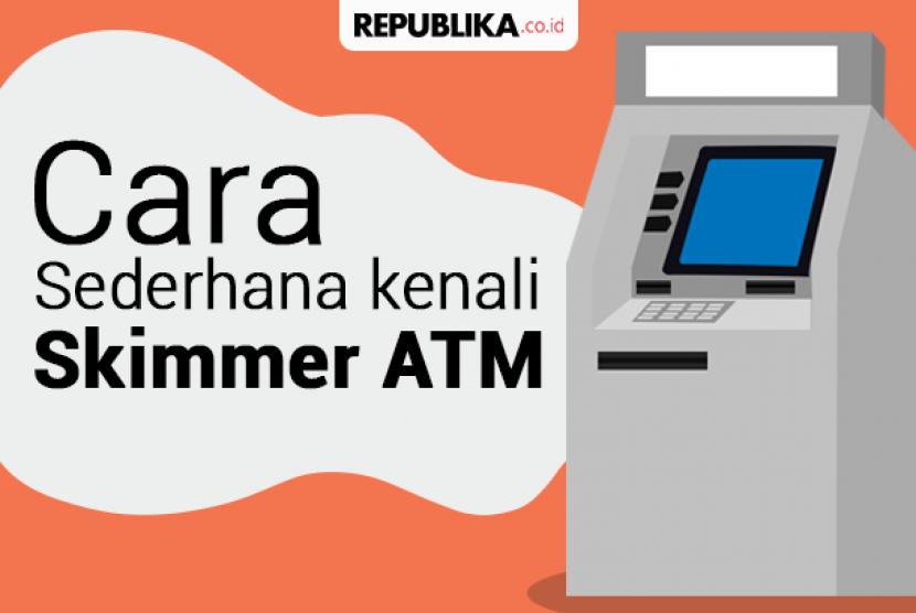 Pembobolan ATM lewat skimmer