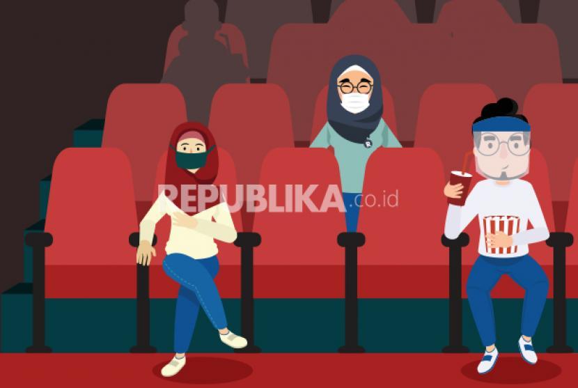 Pemerintah Kabupaten Kudus, Jawa Tengah, mengizinkan bioskop untuk beroperasi kembali. (Foto: Pembukaan bioskop, Ilustrasi)