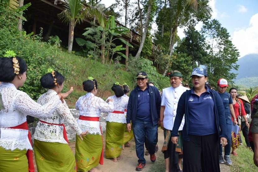 Pembukaan Festival Jatiluwih, Tabanan.