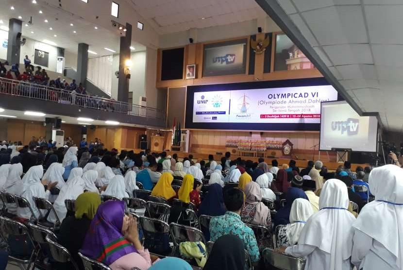 Pembukaan Olimpiade Ahmad Dahlan ke-VI Jawa Tengah.