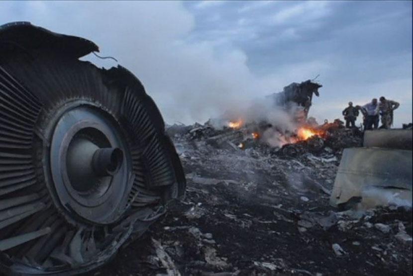 Pemerintah Rusia menolak bertanggung jawab atas tragedi MH17.
