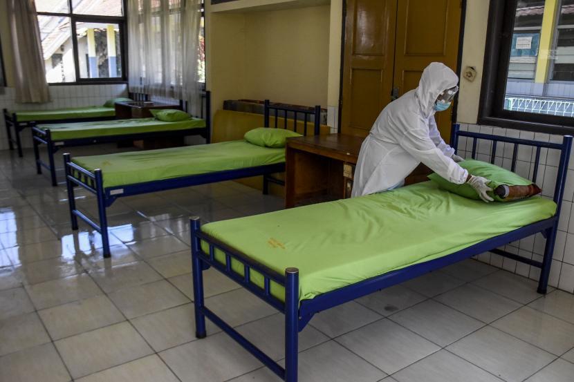 Pemerintah tambah tempat tidur bagi pasien covid, Ilustrasi
