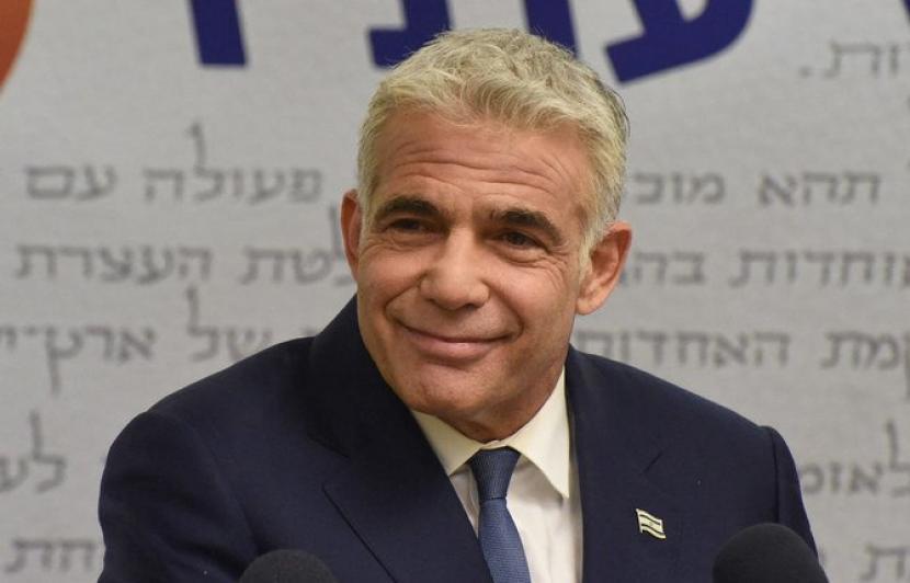 Menteri Luar Negeri Israel yang baru Yair Lapid