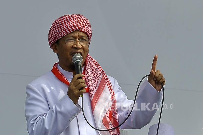 Pemimpin Pondok Pesantren Daarut Tauhid Bandung Abdullah Gymnastiar atau Aa Gym