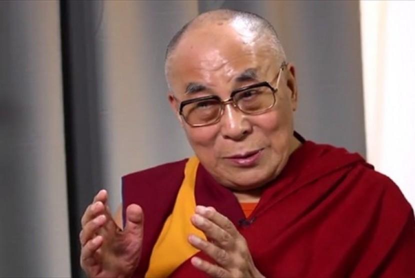 Pemimpin spiritual Dalai Lama.