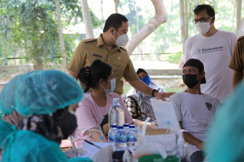 Pemkot Tangerang Gelar Vaksinasi untuk Pemulung
