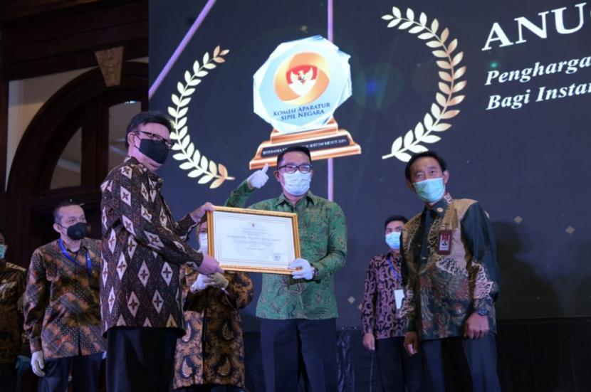 ,Pemprov Jabar Raih Poin Tertinggi Anugerah Meritokrasi
