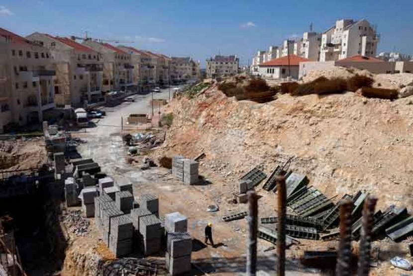 Pemukiman Yahudi di Tepi Barat Palestina