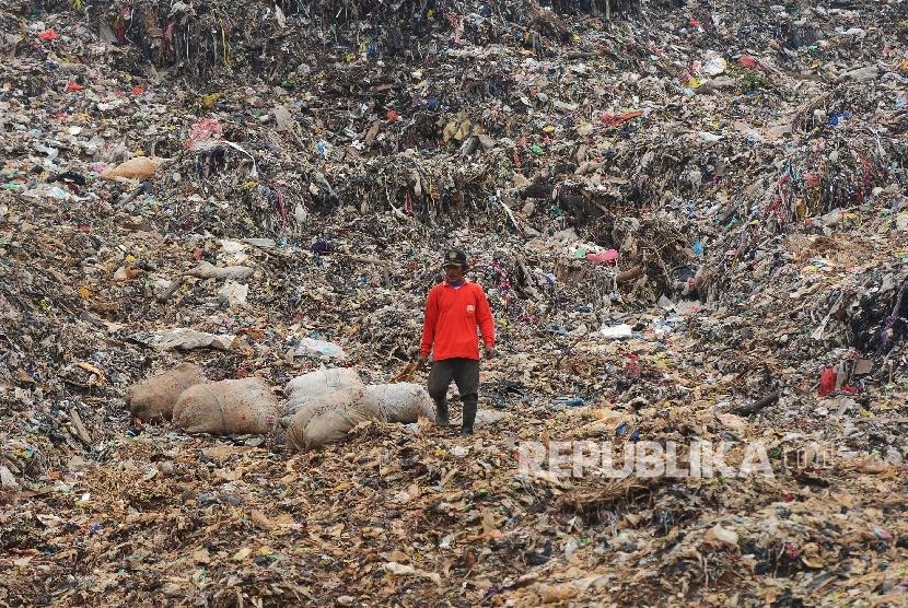 Tempat pengolahan sampah. Ilustrasi