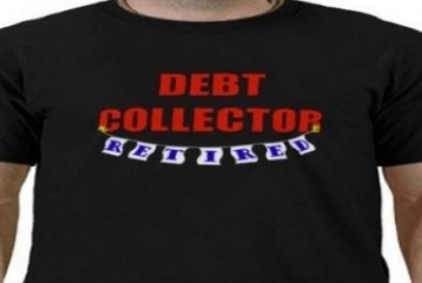 Penagih utang/debt collector (Ilustrasi)