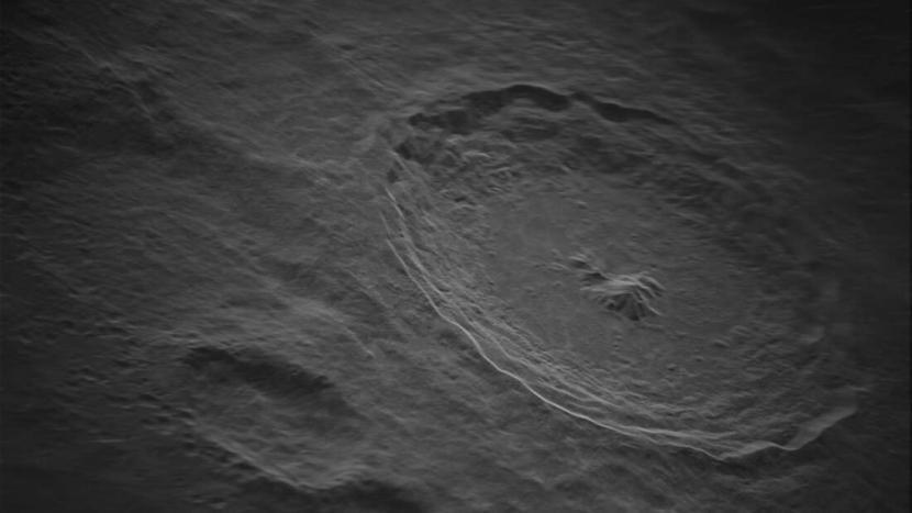Penampakan Bulan dari foto dengan resolusi paling tinggi