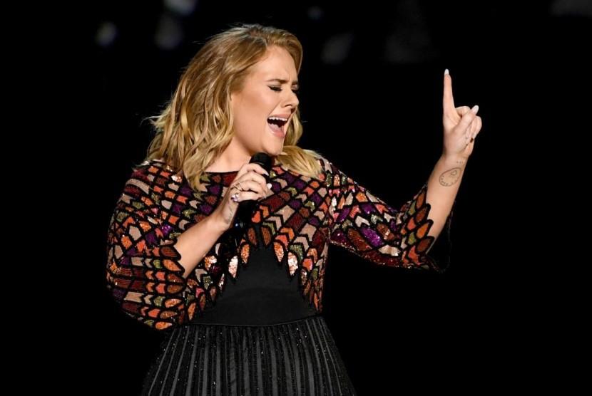 Penampilan Adele di Grammy Awards 2017