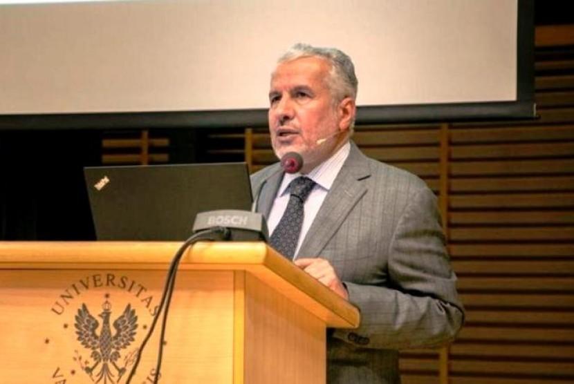 Penasehat Umum Pusat Raja Salman untuk Bantuan Kemanusiaan, Abdullah Abdul Aziz ar-Rabi'ah,