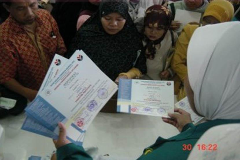 Pencairan tunjangan dana sertifikasi guru (ilustrasi)