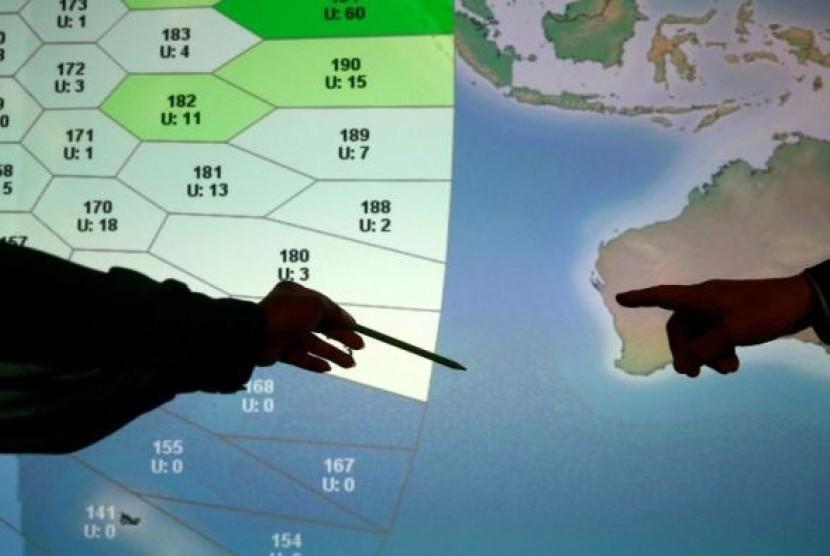 Pencarian ekstensif gagal untuk menemukan bangkai pesawat Malaysia Airlines MH370 yang hilang.