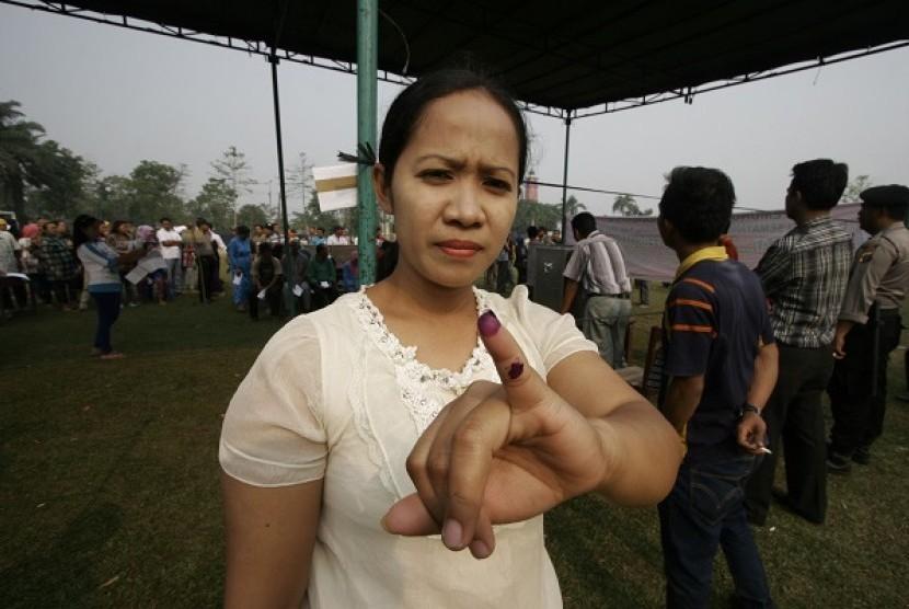 Pencoblosan Ulang (ilustrasi)
