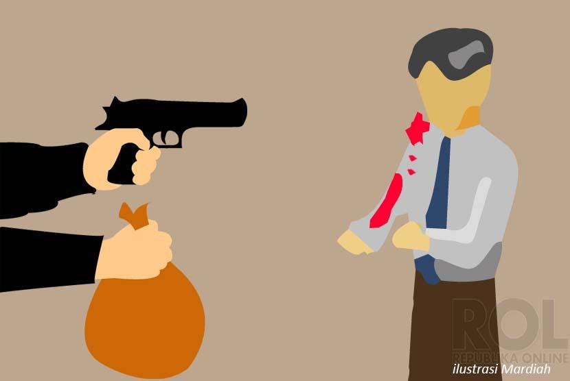 Pencurian Dengan Kekerasan (Ilustrasi)