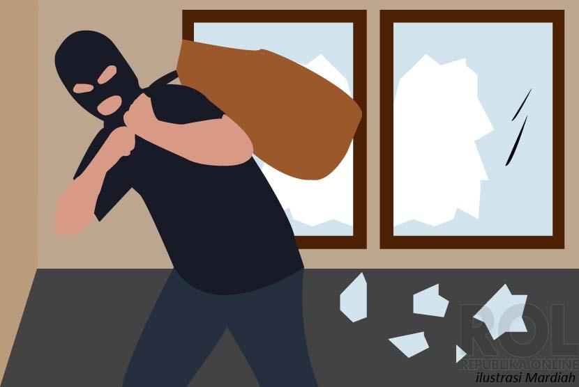 Pencurian dengan Pemberatan (Ilustrasi)
