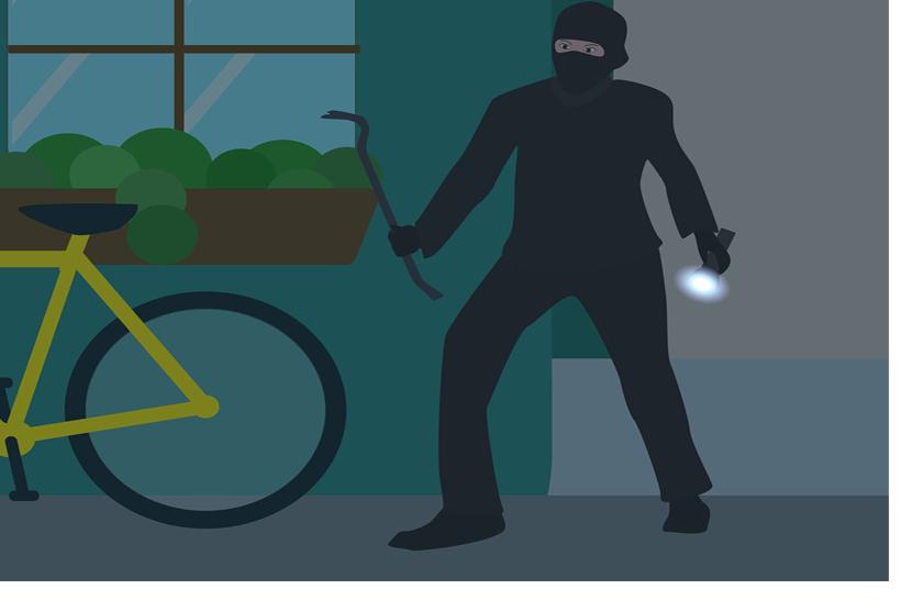 Pencurian/Maling (Ilustrasi)