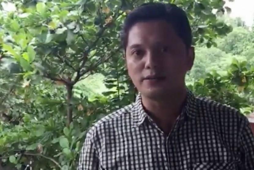 Pendiri gerakan sekolah menyenangkan (GSM), Muhammad Nur Rizal
