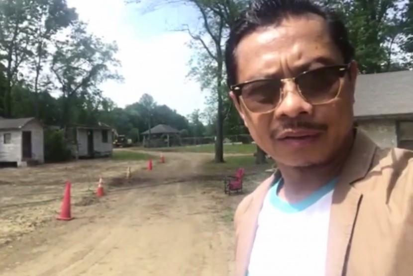 Pendiri pesantren Nusantara di Kota Moodus, Connecticut, AS, Shamsi Ali