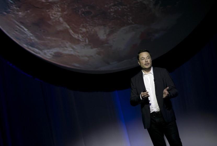 Pendiri SpaceX, Elon Musk