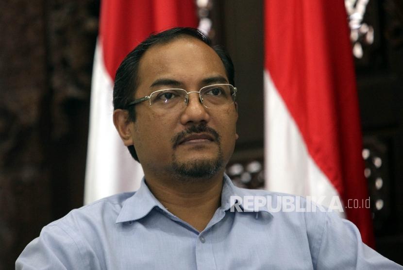 Peneliti dan Pengamat Sosial-Keagamaan, Nasir Abbas saat menjadi pembicara pada diskusi Publik DPP PKB di Jakarta, Selasa (2/2).