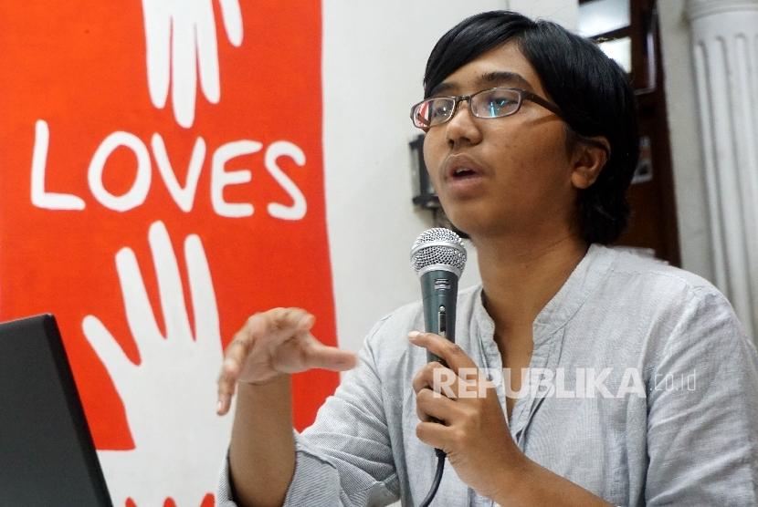 Ketua Umum Yayasan Lembaga Bantuan Hukum Indonesia (YLBHI) Asfinawati.