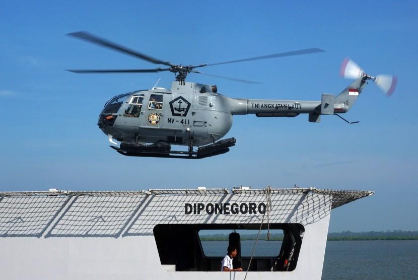 helikopter milik TNI (ilustasi)