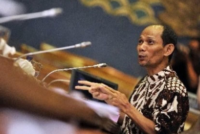 Pengamat Ekonomi Ichsanuddin Noorsy