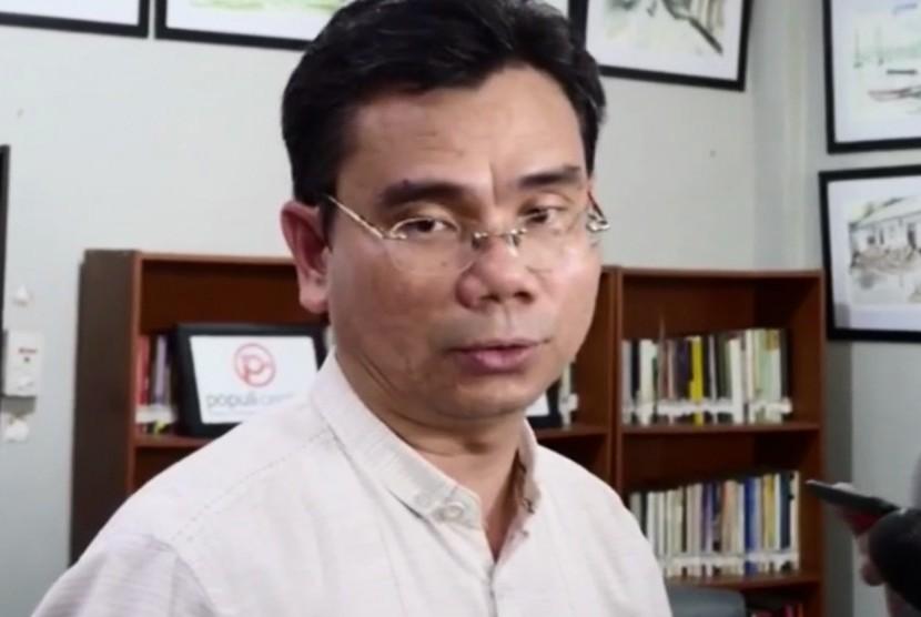 Pengamat Politik dari Saiful Mujani Research Center (SMRC), Djayadi Hanan