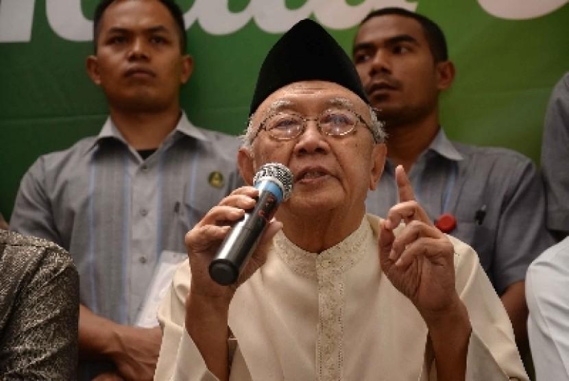 Pengasuh Pondok Pesantren Tebuireng Salahuddin Wahid alias Gus Sholah.