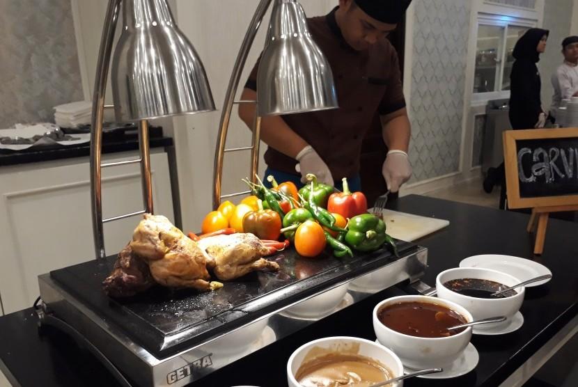 Pengenalan menu buka puasa all you can eat di hotel Grand Keisha.