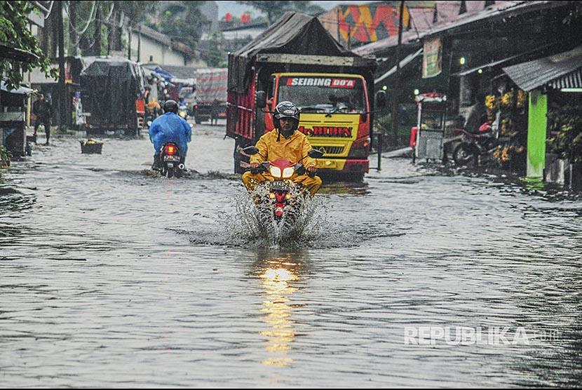 Banjir. (ilustrasi)