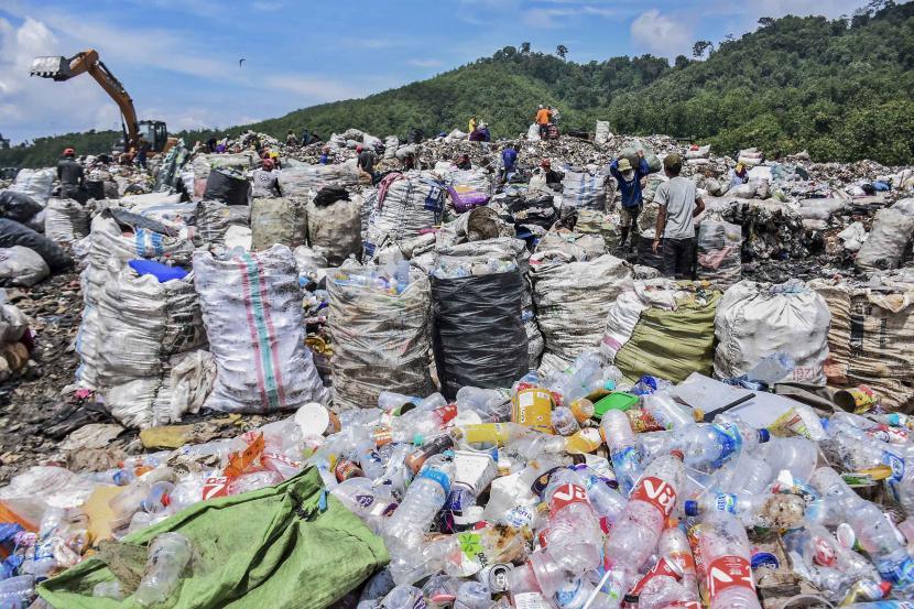 Pengolahan sampah. Ilustrasi