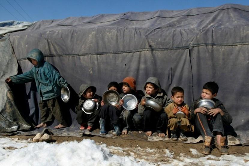 Pengungsi Afghanistan (ilustrasi)