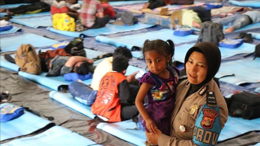Para pengungsi Moskona Barat kembali ke rumah masing-masing. Pengungsi di Papua (Ilustrasi).