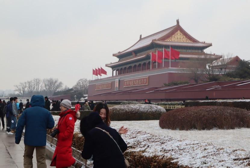 Pariwisata Cina Raup Lebih Dari Rp 1 Triliun Dalam Sepekan