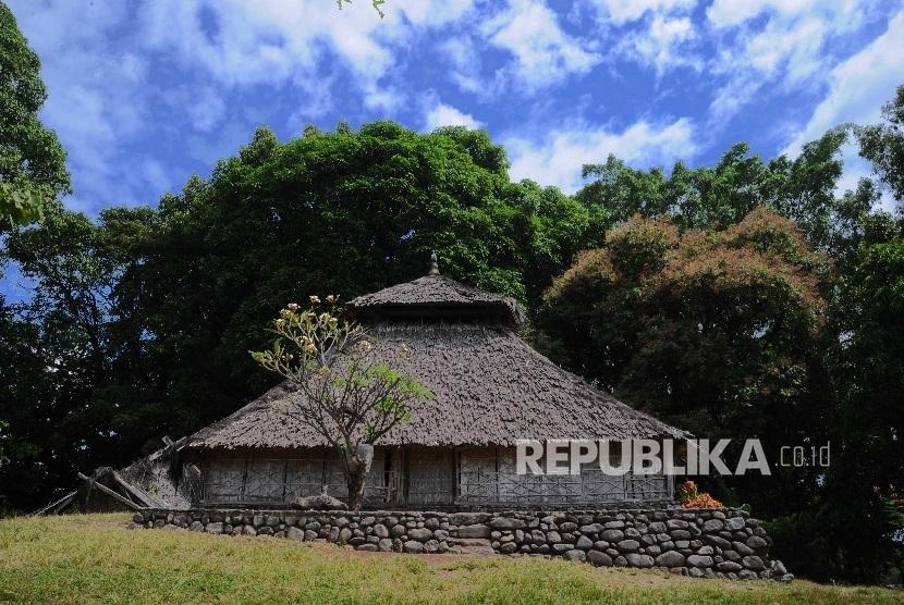Kompleks Masjid Bayan Beleq di Bayan, Lombok Utara, Nusa Tenggara Barat (NTB).