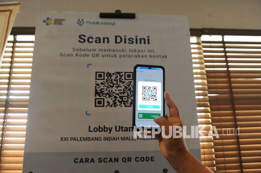 Pemkot Bekasi akan menerapkan aplikasi PeduliLindungi sebagai syarat masuk toko swalayan atau minimarket (ilustrasi).