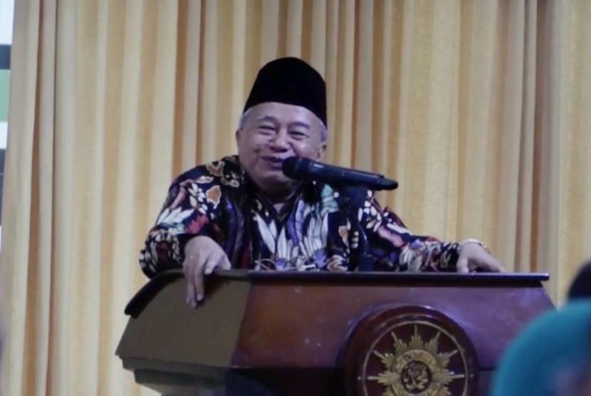Ketua Bidang Hubungan Luar Negeri Majelis Ulama Indonesia (MUI) KH Muhyiddin Junaidi.