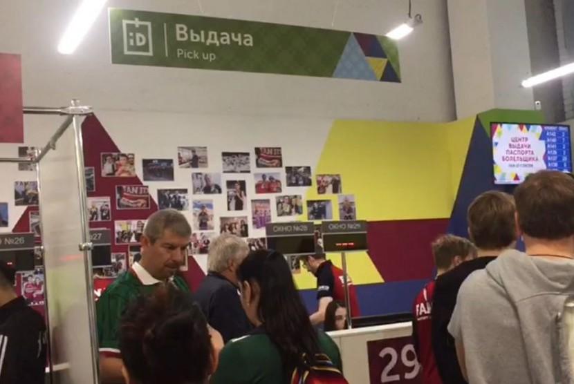 Pengurus Fan ID untuk penonton Piala Dunia Rusia