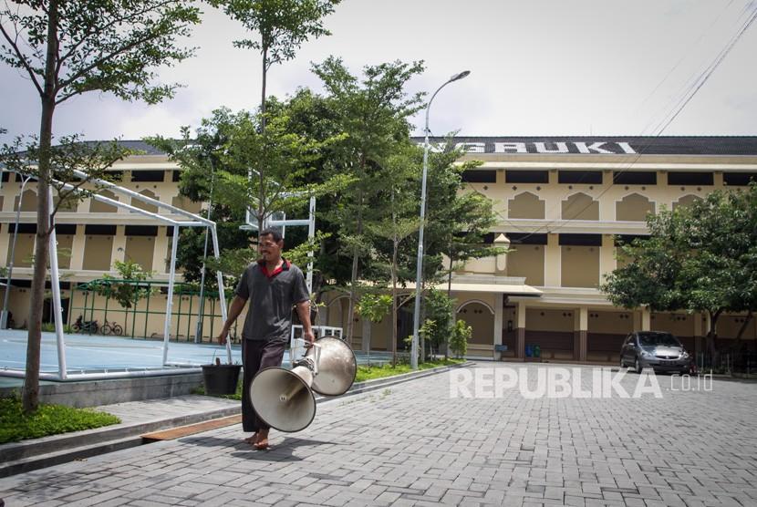 Suana kompleks Pondok Pesantren Al Mukmin Ngruki, Sukoharjo, Jawa Tengah. (ilustrasi).