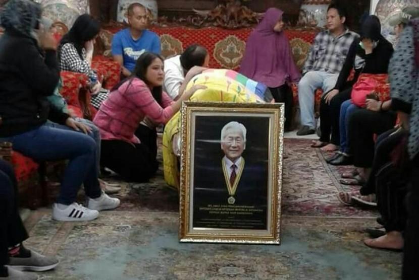 Pengusaha dan pemilik Taman Wisata Matahari, Bogor, Hari Darmawan, ditemukan tewas di aliran Sungai Ciliwung, Bogor, Sabtu (10/3).