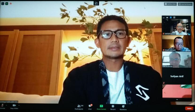 Pengusaha nasional Sandiaga Salahuddin Uno.