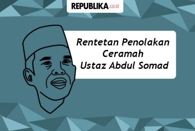 Penolakan ceramah Ustaz Somad.
