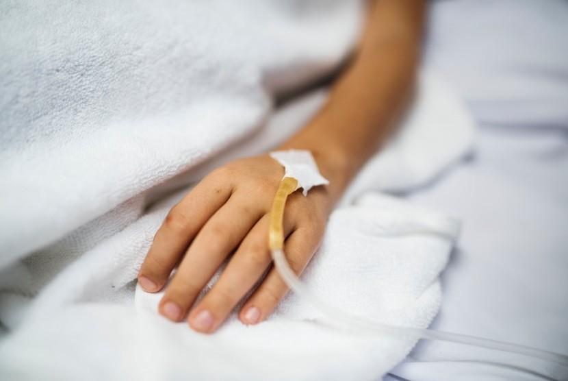 Penyakit Kawasaki. Dari 100 anak yang terkena kawasaki, 40 persen dapat sembuh dengan sendirinya.