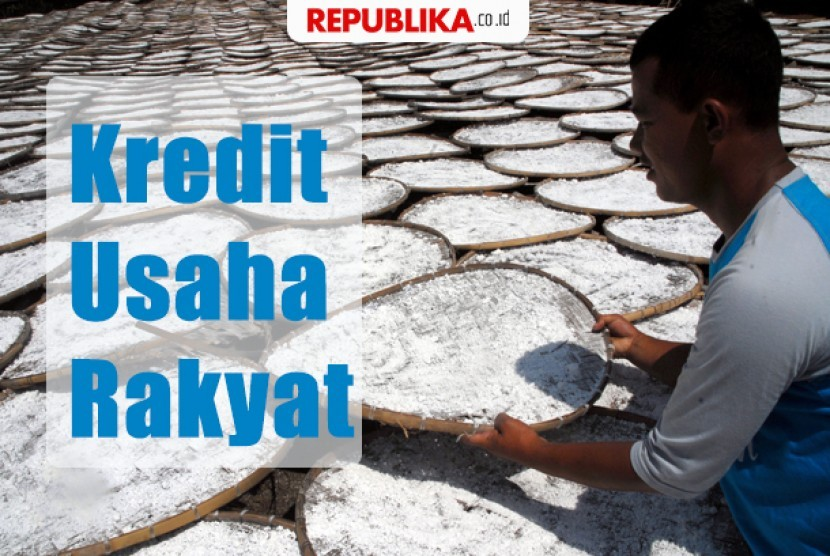 Penyaluran kredit usaha rakyat (KUR)